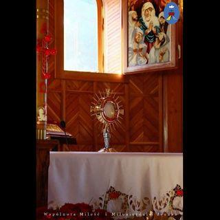 Pustelnia - Adoracja 14.03.2020, Apel Jasnogórski