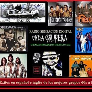 """ONDA GRUPERA"" English & Spanish hits"
