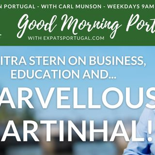 Marvellous Martinhal with Chitra Stern on Good Morning Portugal!