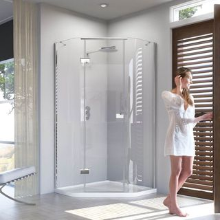 All about the shower enclosures and trays