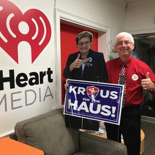 Steve Krauss who is running against Marcy Kaptur stops by