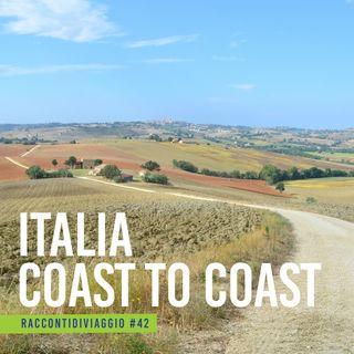 #42_st2 Italia Coast2Coast, il cammino dal Conero all'Adriatico raccontato da Simone Frignani, il suo ideatore
