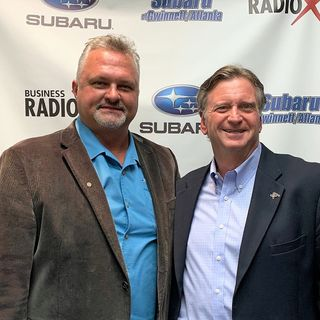 Tim Gowens with Metro Wheels & Accessories and Rick Crain with Breakthrough Business Solutions