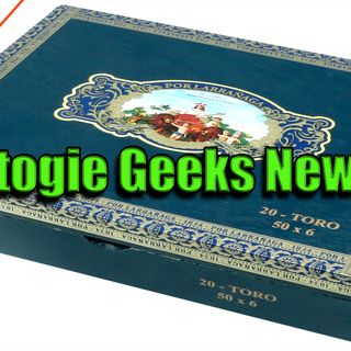 Stogie Geeks News -  May 27, 2016