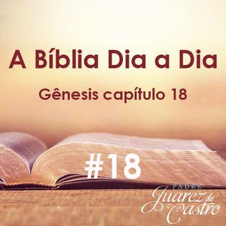 Curso Bíblico 18 - Gênesis Capítulo 18 - A Intercessão por Sodoma - Padre Juarez de Castro