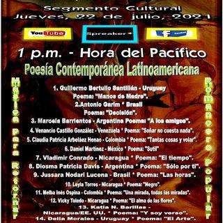Poesía Contemporánea Latinoamericana + Música de Retorno