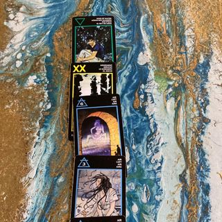 Cancer Crab Deal With Yourself-Nita Scott Infinite Truthseekers Tarot