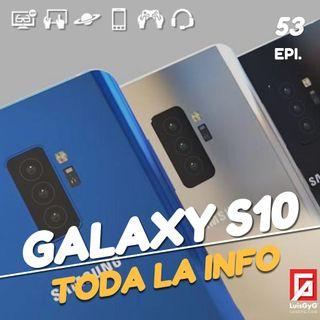 Todo sobre la nueva familia Galaxy S10, prueba del Nissan Leaf y Optane Memory.
