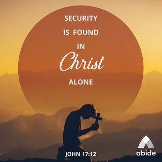 Christ is Our Security