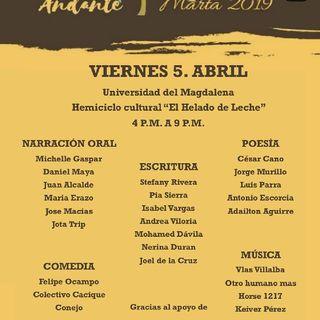 La Palabra De Fiesta, Festival Lengua Andante