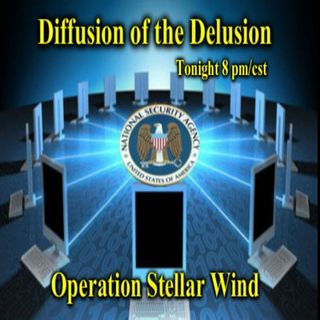 Diffusion of the Delusion-Operation Stellar Winds