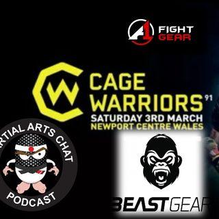 Cage Warriors 91