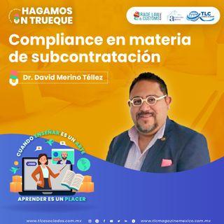 Episodio 189. Compliance en materia de subcontratación (Outsourcing)
