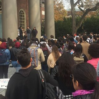 Hundreds Rally In Support Of DACA At Harvard
