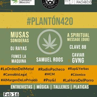 Cobertura Radio Pacheco #Plantón420