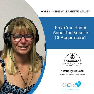 8/28/18: Kimberly McCord with Bubbling Springs Acupressure | Have you heard about the benefits of acupressure?