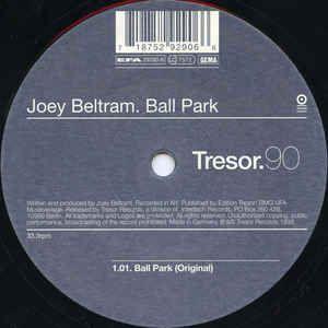 Joey Beltram - Ball Park