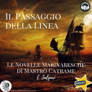 LE NOVELLE MARINARESCHE DI MASTRO CATRAME • 3 ☆ E- Salgari ☆ Audiolibro ☆