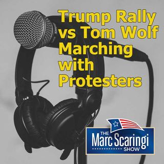 2020-06-20 TMSS Trump Rally vs Tom Wolf Marching with Protesters
