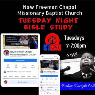 S2 E3 - God's Day with Lady Aunqunic Collins - Tuesday Night Bible Study on 2.23.21 -