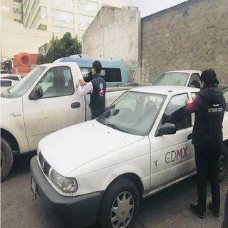 Gobierno capitalino, determina el resguardo de vehículos oficiales en elecciones