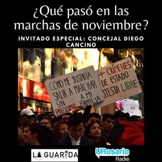 ¿Qué pasó en las marchas de noviembre?