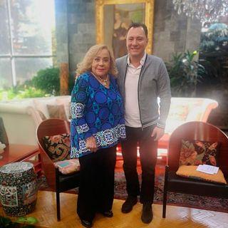 Silvia Pinal en Hoy Con Mariano
