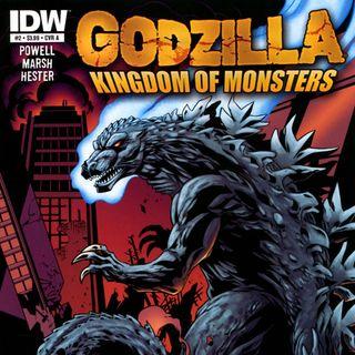Source Material #225 - Godzilla: Kingdom of Monsters (IDW, 2011)