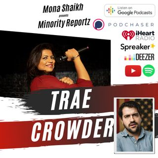 MY MOM STOLE BIKE TO BUY DRUGS-Minority Reportz Podcast- Ep. 1 w/ Trae Crowder (The Liberal Redneck)