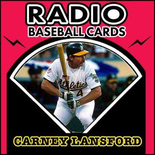 Carney Lansford Batting Title Dedication