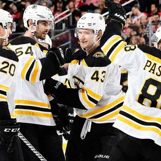 After Trade, Bruins Have Surplus On Defense