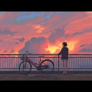 The sunset is beautiful~lofi hip hop mix~ focus music [study/sleep/homework music]