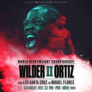 Deontay Wilder vs. Luis Ortiz 2 Alternative Commentary