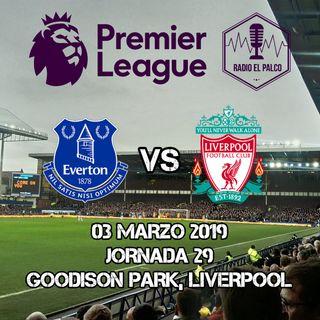 Everton vs Liverpool en VIVO