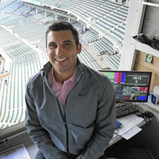 Chicago Cubs PA Announcer Andrew Belleson