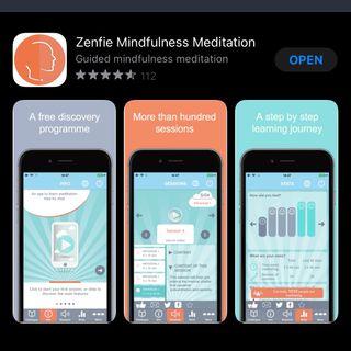 📲 Les bienfaits de méditations quotidiennes avec Zenfie 🧘🏽♂️