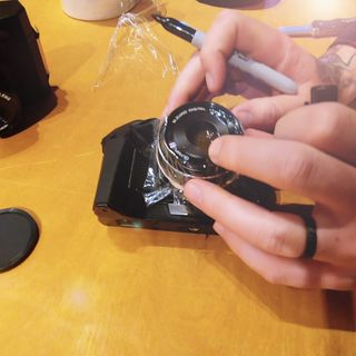 How to destroy a perfectly good digital camera