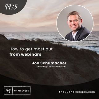 How to get most out from webinars