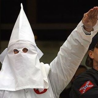 KKK RALLY IN INDIANA DISRUPTED BY COUNTERPROTESTERS