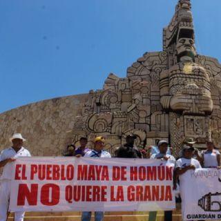 Los pueblos mayas de Kinchil, Celestún y San Fernando, piden el apoyo del Gobierno