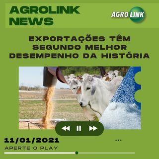 Agrolink News - Destaques do dia 11 de janeiro
