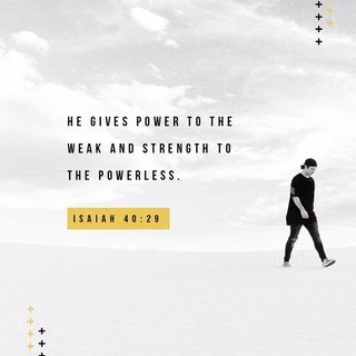 Episode 239: Isaiah 40:29 (September 17, 2018)