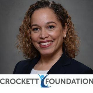 Regine Kanzki of the Crockett Foundation