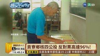17:37 【台語新聞】貢寮鄉核四公投 反對票高達96%! ( 2019-05-22 )