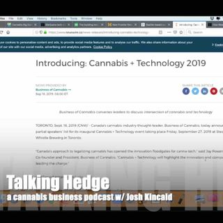 Cannabis Tech Capital Raises (2019)
