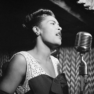 Part 1 Celebrating Black Histoy Month - Women of Color = Billie Holiday (Lady Day)