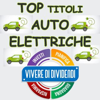 TOP TITOLI AUTO ELETTRICHE