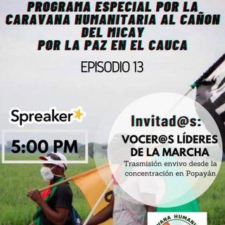 Caravana Humanitaria - Cañón del Micay