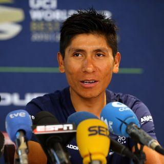 Nairo Quintana listo para el 2018