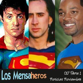 Los Mensaheros 017- Actores que estuvieron a punto de encarnar a Superman y noticias